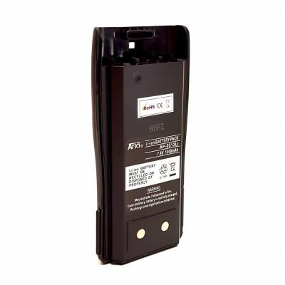 Batería para  PMR-446/HP-105/HP-405, HP-496, 7.4 V., 1300 mAh, Li-Ion.