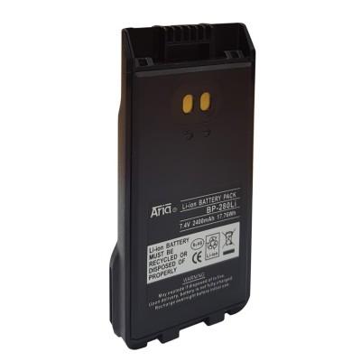 Batería para ICOM IC-F1000 / IC-F2000, 7.4 V., 2400 mAh, Li-Ion.
