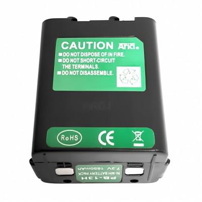 Batería para KENWOOD TH-27, TH-28, TH-78, 7.2 V., 1650 mAh, Ni-Mh.