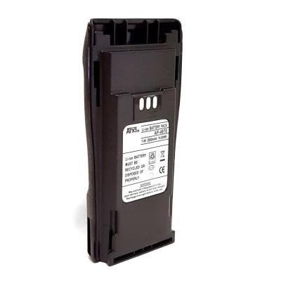 Batería para MOTOROLA CP-040/200/150, EP-450, DP-1400. 7.4 V., 2000 mAh, Li-Ion.