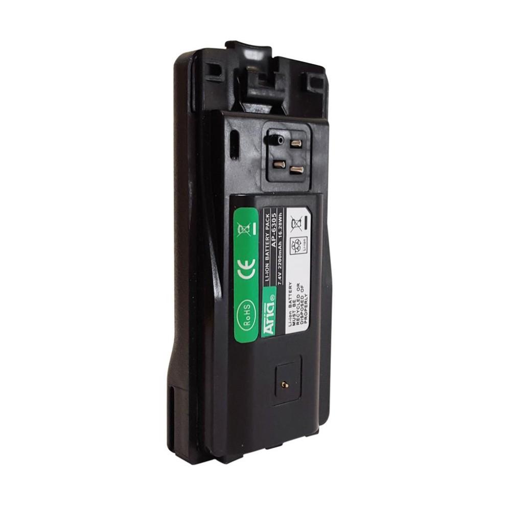 Batería para MOTOROLA CP-110, 7.4 V, 2200 mAh, Li-Ion.
