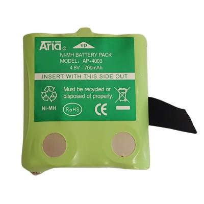 Batería para MOTOROLA PMR T60/T80/T6, 4.8 V., 700 mAh, Ni-Mh.