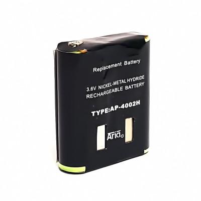 Batería para MOTOROLA SERIES PMR, 3.6 V. 1500 mAh, Ni-Mh.