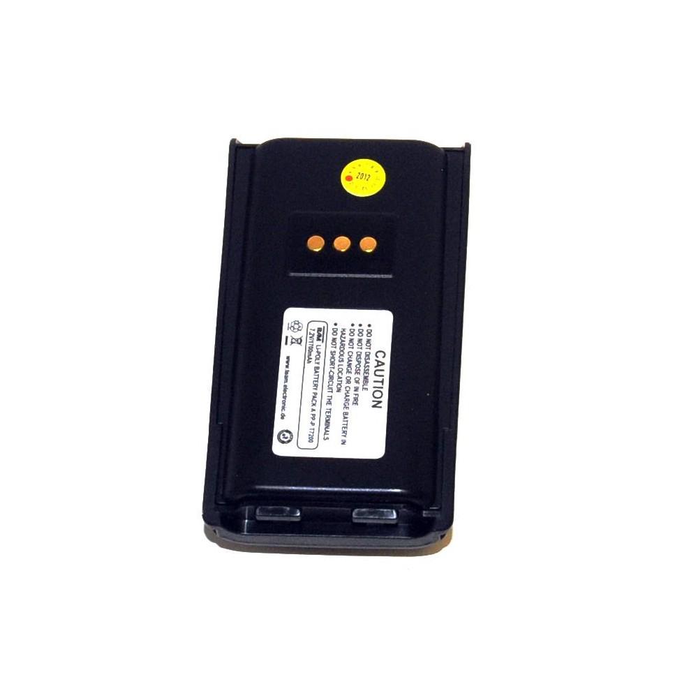 Batería para TEAM PT-7200, 7.2 V 1700 mAh.
