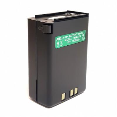 Batería para YAESU FT-411/415, FT-26, FT-530.  12 V.,  1100 mAh Ni-Mh