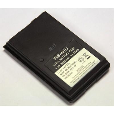 Batería para YAESU FT-60R, 7.4 V., 2000 mAh, Li-Ion.