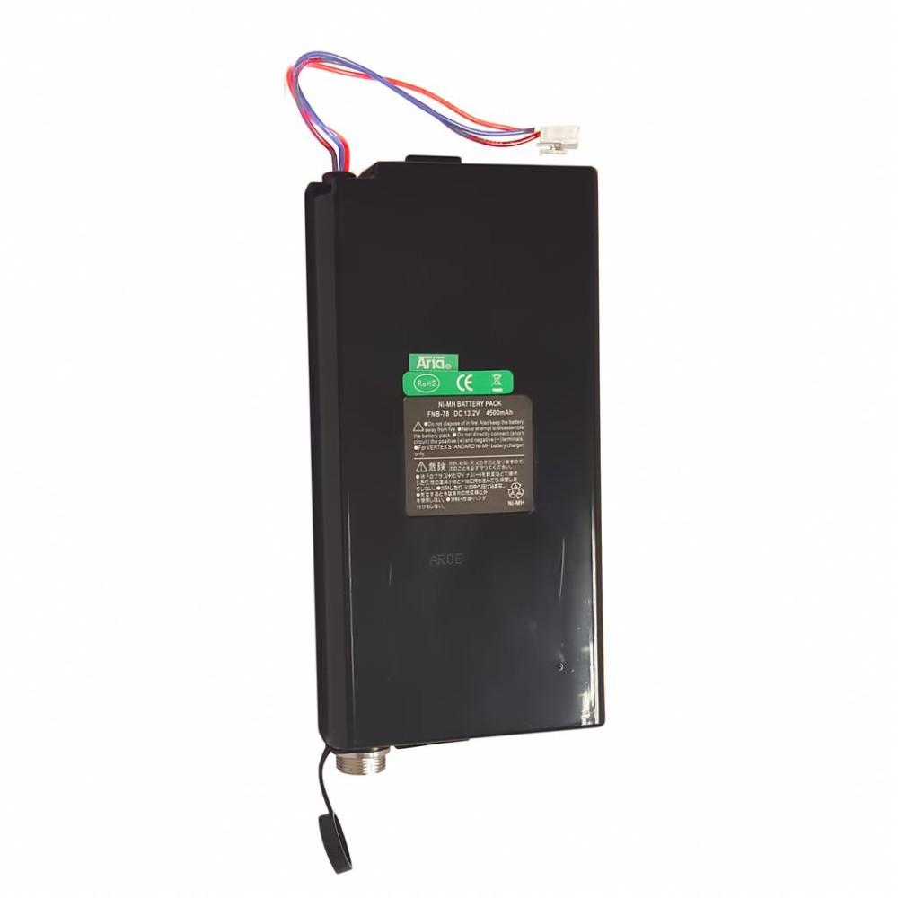 Batería para YAESU FT-897/897-D, 13.2 V., 4500 mAh, Ni-Mh.