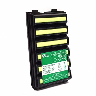 Batería para YAESU VX-110/120/146/150/160/170/180/210/246/180/400/428 7.2 V, 1700 mAH, Ni-Mh.