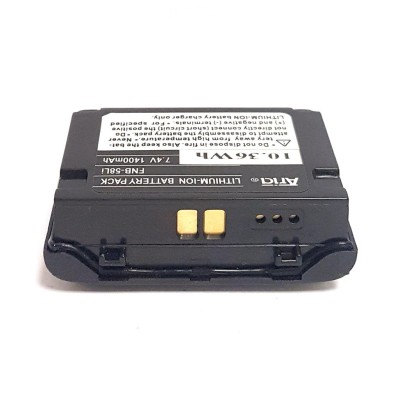 Batería para YAESU VX-5,  7.4 V., 1400 mAh, Li-Ion.