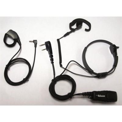 Laringófono profesional para ICOM.