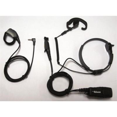 Laringófono profesional para Motorola series GP344.