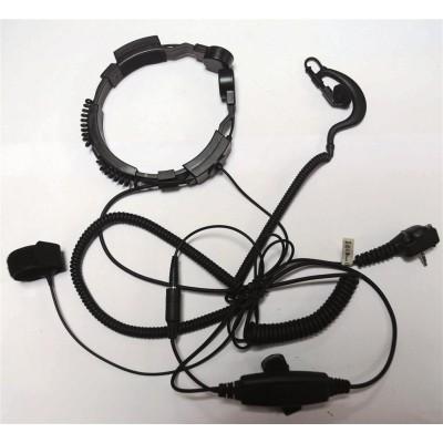 Laringófono profesional para YAESU.