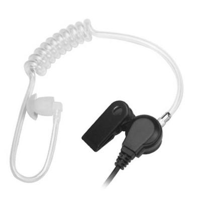 Micro-auricular acústico tipo tubular para YAESU, ICOM, ALINCO, COBRA, STANDARD, etc.