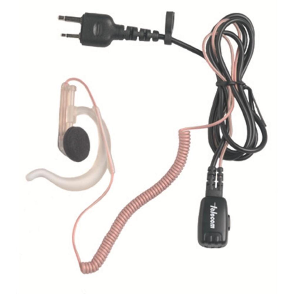 Micro-auricular ergonómico para YAESU, ICOM, ALINCO, COBRA, STANDARD, etc.