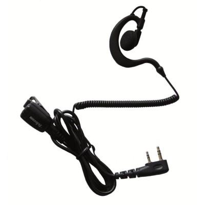Micro-auricular ergonómico giratorio con micro tipo solapa, para KENWOOD, TEAM y HYT.