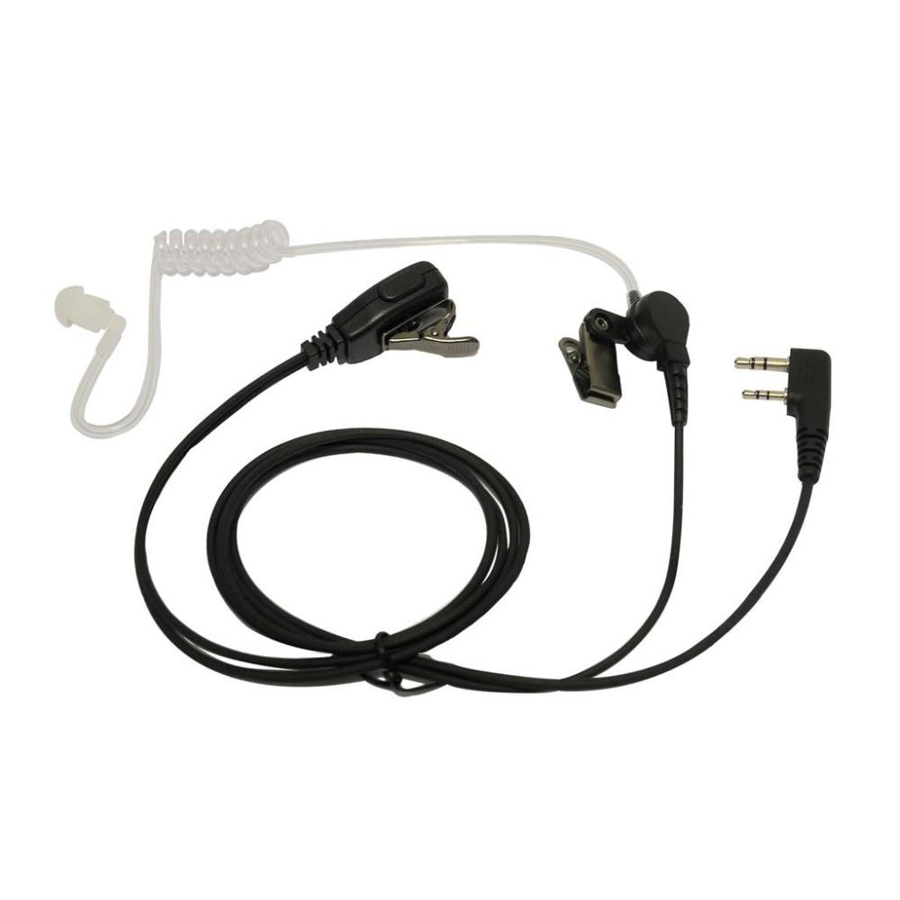 Micro-auricular tubular para KENWOOD, TEAM y HYT.
