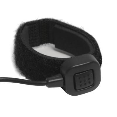 Micro-auricular vibración oído interno para KENWOOD, TEAM y HYT.