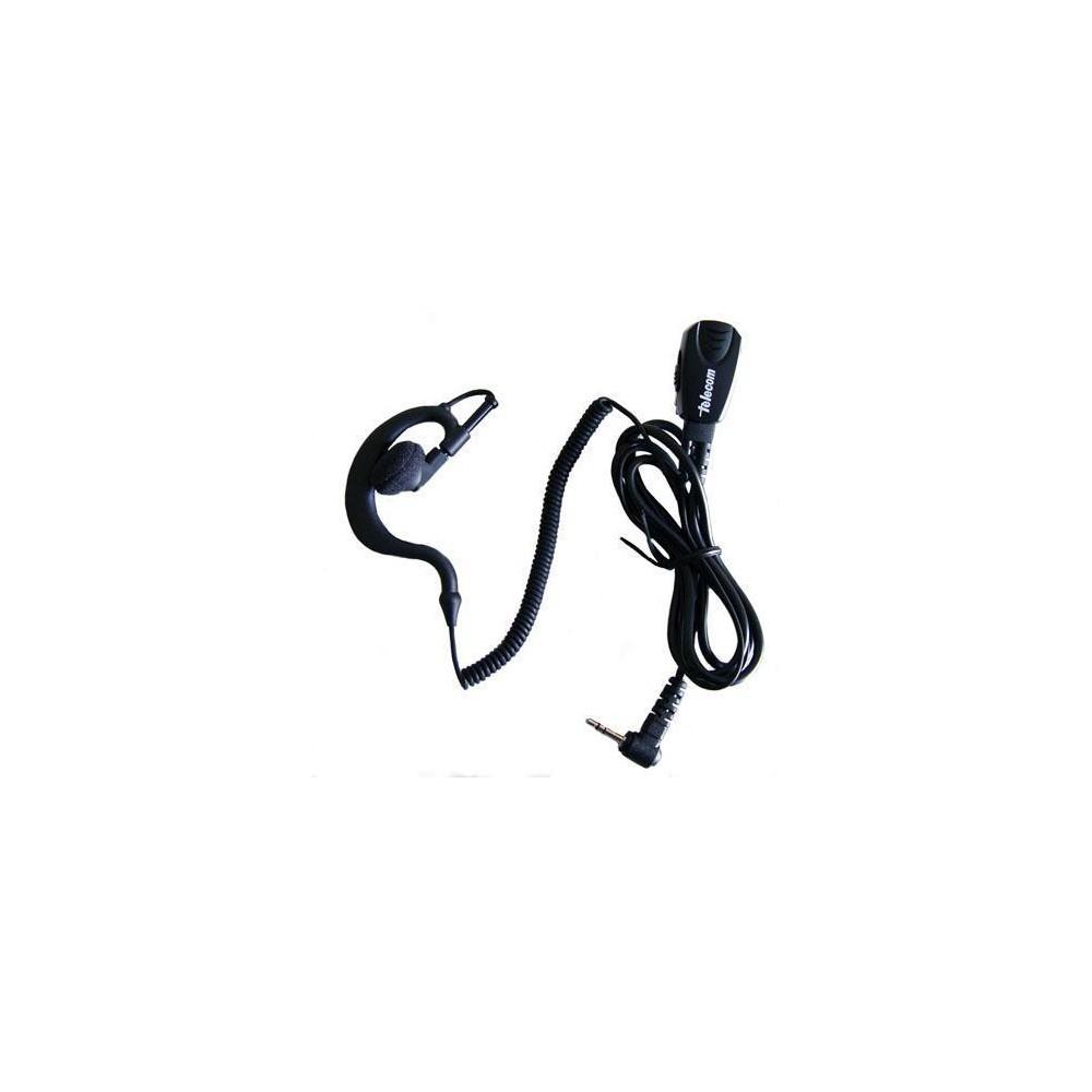 Micro-auricular con micro tipo solapa VOX-PTT para MOTOROLA.