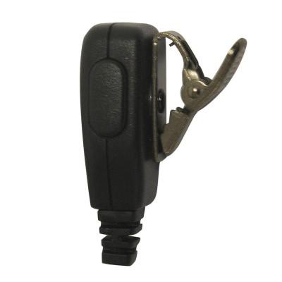 Micro-auricular con PTT de solapa para MOTOROLA y HYT.