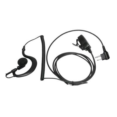 Micro-auricular con PTT de solapa para MOTOROLA y TEAM.