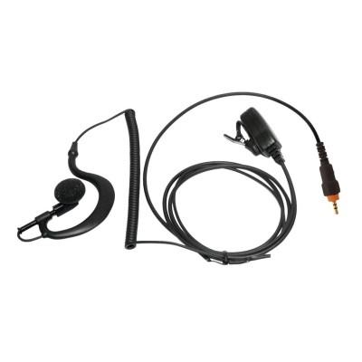 Micro-auricular con PTT de solapa para MOTOROLA.