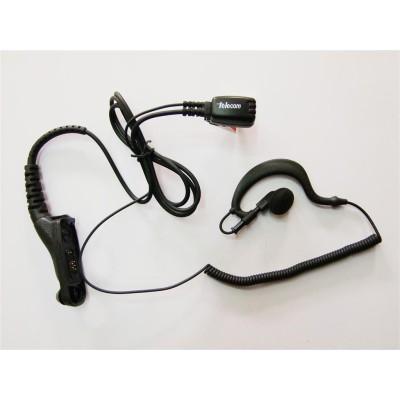 Micro-auricular ergonómico giratorio con micro tipo solapa, para MOTOROLA.