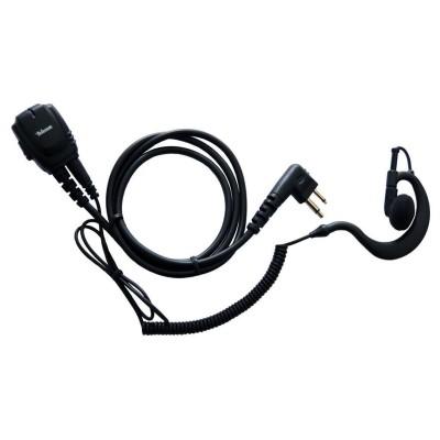 Micro-auricular gama profesional. IP-54. Para MOTOROLA y TEAM.