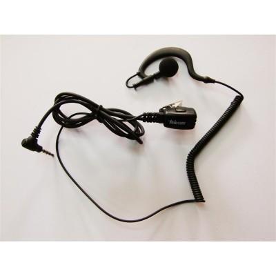 Micro-auricular ergonómico giratorio, especial para equipos tipo VX-1R - VX-10 y FT-50.