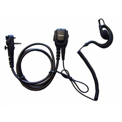 Micro-auricular gama profesional. Compatible con YAESU.