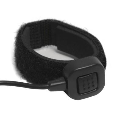 Micro-auricular vibración oído interno + PTT tipo anillo para YAESU