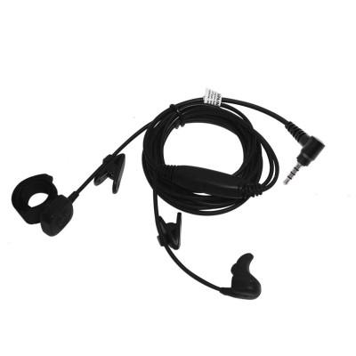 Micro-auricular vibración oído interno + PTT tipo anillo, para YAESU.