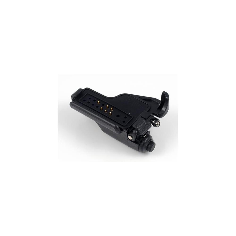 Adaptador micro para MOTOROLA GP-900-1200 / HT-1000 a conexión MOTOROLA VISAR.