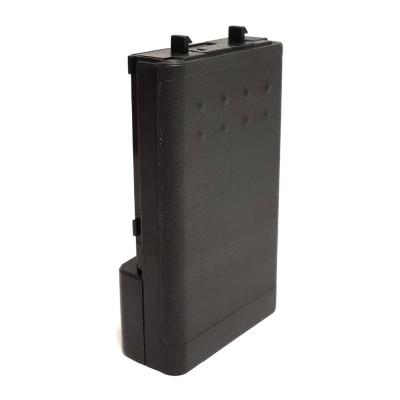 Portapilas compatible con ICOM IC-W32A/E, IC-T7H, IC-T22A/E, IC-42A/E