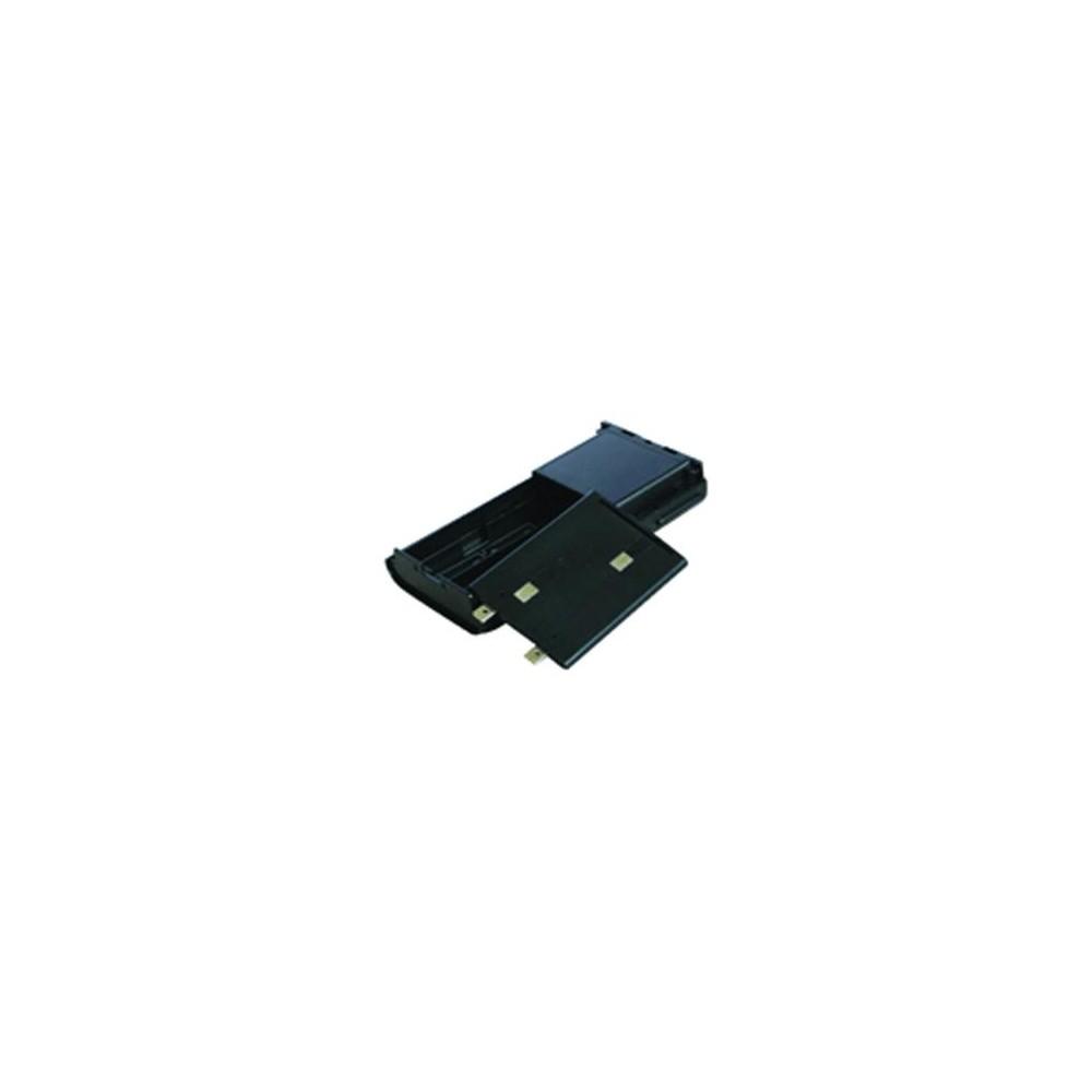 Portapilas tipo 6 x AA alcalinas compatible con KENWOOD