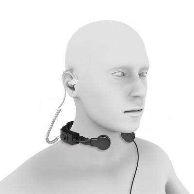 Laringófono profesional NAUZER PLX-330
