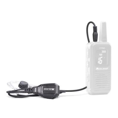 Micro-auricular neumático para MIDLAND 777 PRO