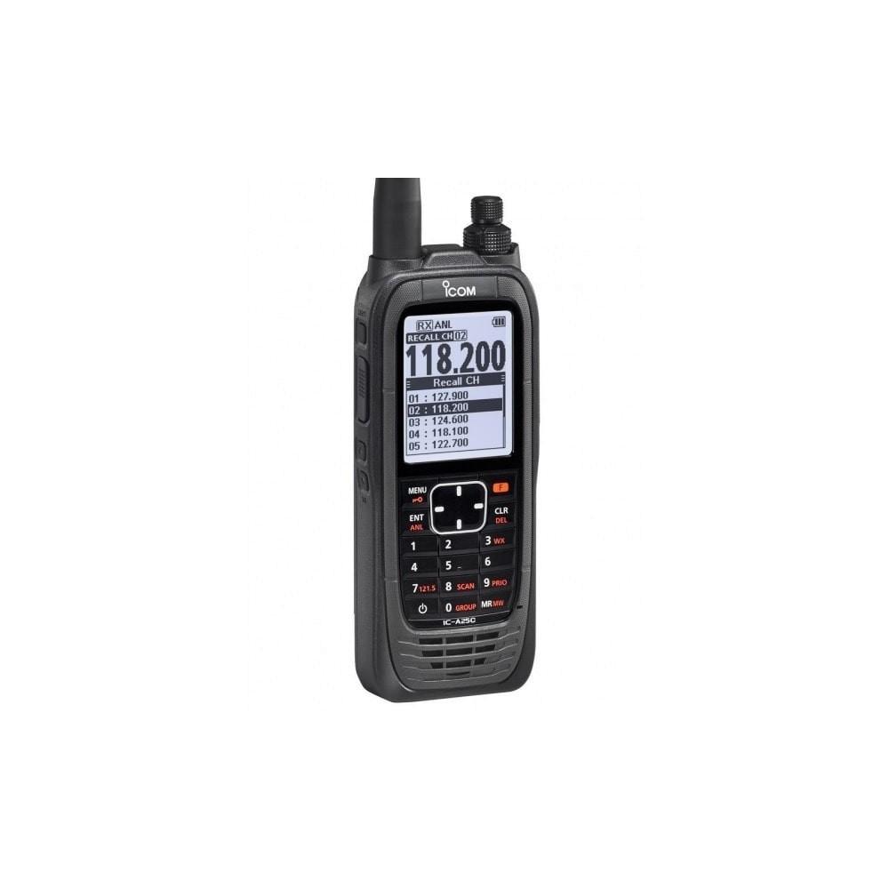 ICOM IC-A25CE VHF banda aérea