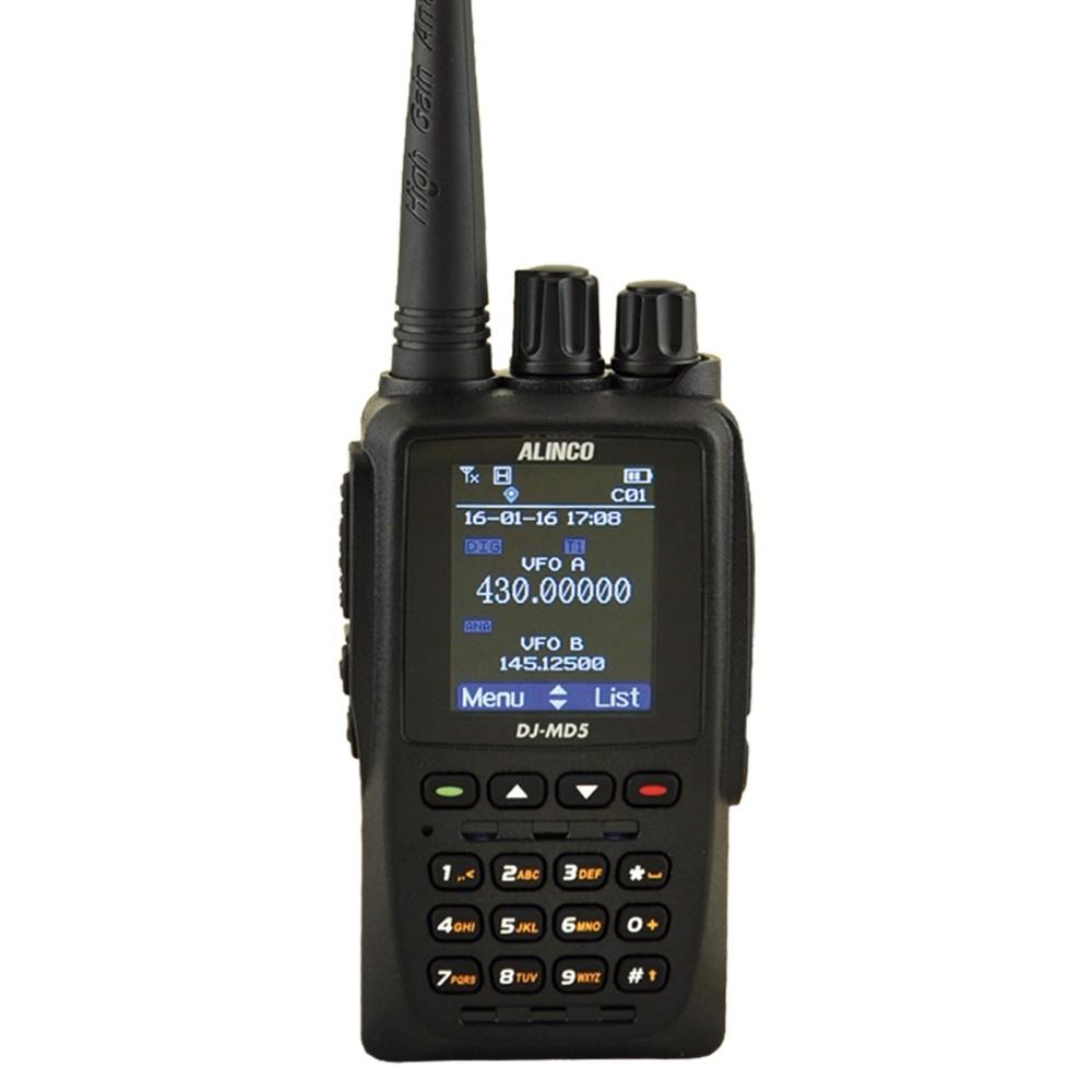 Alinco DJ-MD5 DMR Bibanda GPS