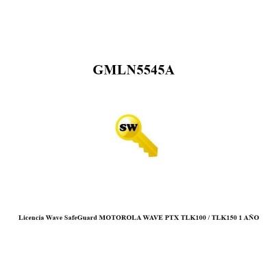 Licencia SafeGuard MOTOROLA WAVE PTX TLK100 / TLK150 1 AÑO