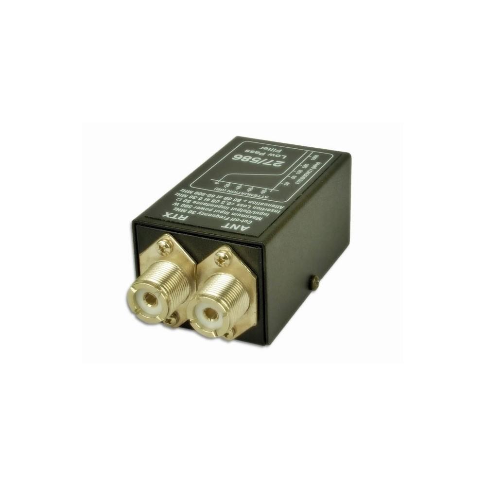 Filtro de paso bajo 3-30 MHz