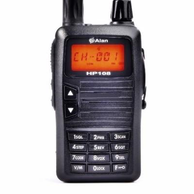 ALAN HP108 VHF Emisora walkie especial CAZA