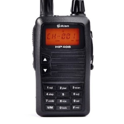 ALAN HP408 walkie UHF especial CAZA