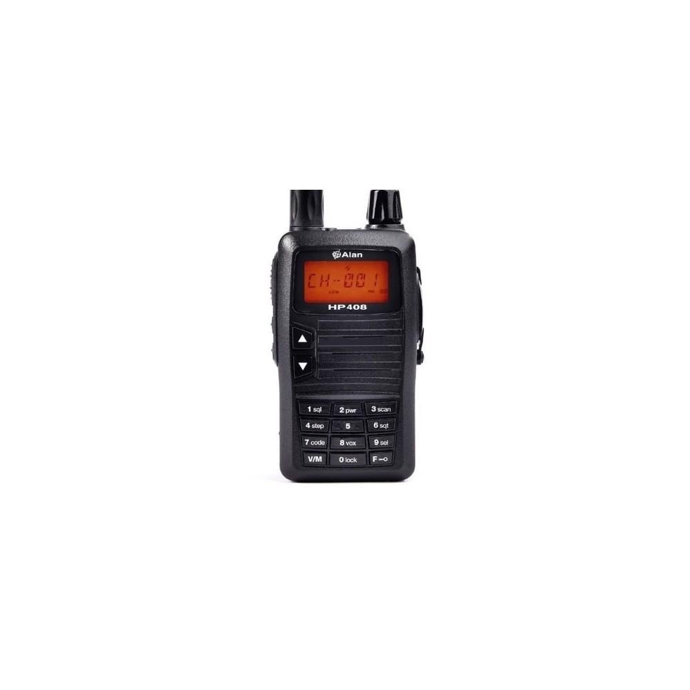 ALAN HP408 walkie UHF especial CAZA