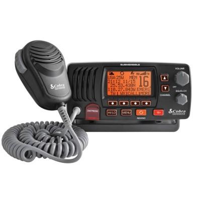 Emisora COBRA MR F57W / MR F57B VHF Fija