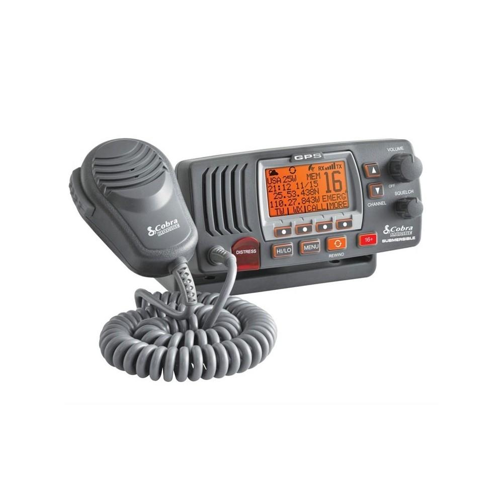 Emisora COBRA MR F77B GPS VHF Fija